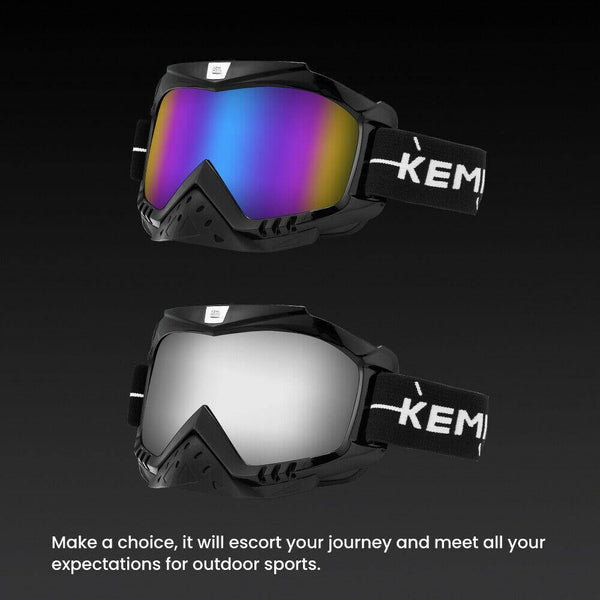 Adjustable Riding Offroad Goggles - KEMIMOTO
