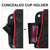Polaris RZR XP 1000 900XC S900 Front Door Side Door Bags with Knee Pad - Kemimoto