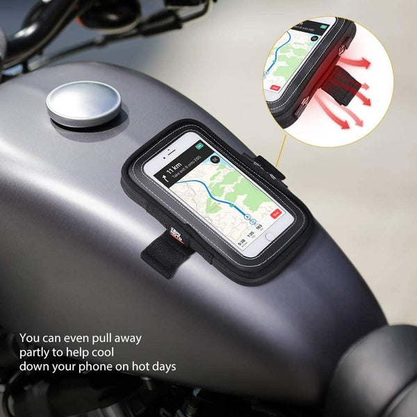 Motorcycl Tank Bag Mobile Phone Case with Magnets - Kemimoto