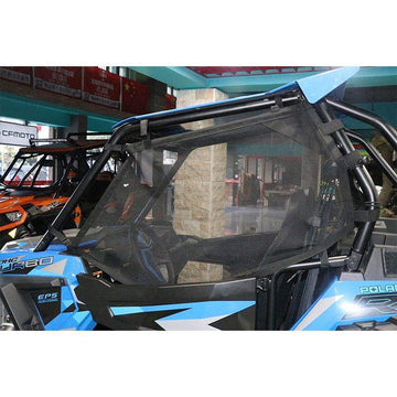 RZR Window Net UTV Roll Cage Mesh Guard Window Shade Shield Cover Net for a RZR 570 800 S 800 900