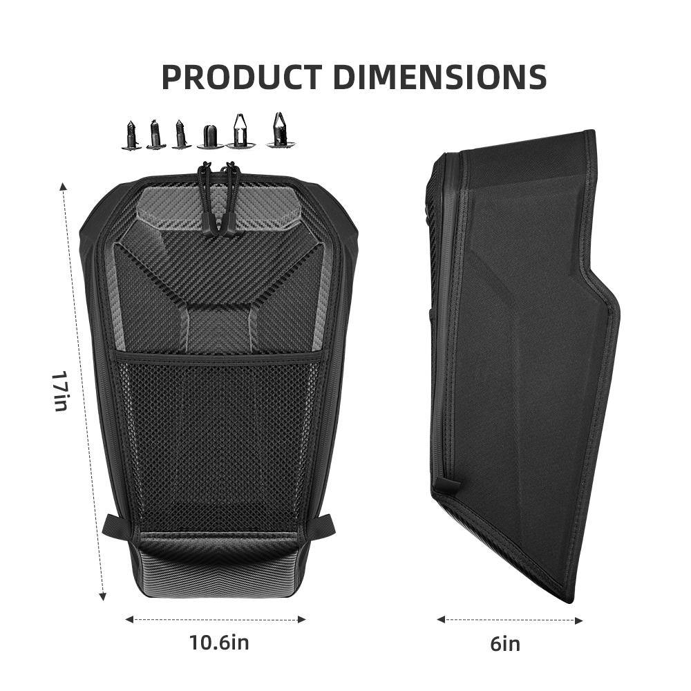 Shoulder Storage Bag Compatible with 2020 2021 Polaris RZR PRO XP - Kemimoto