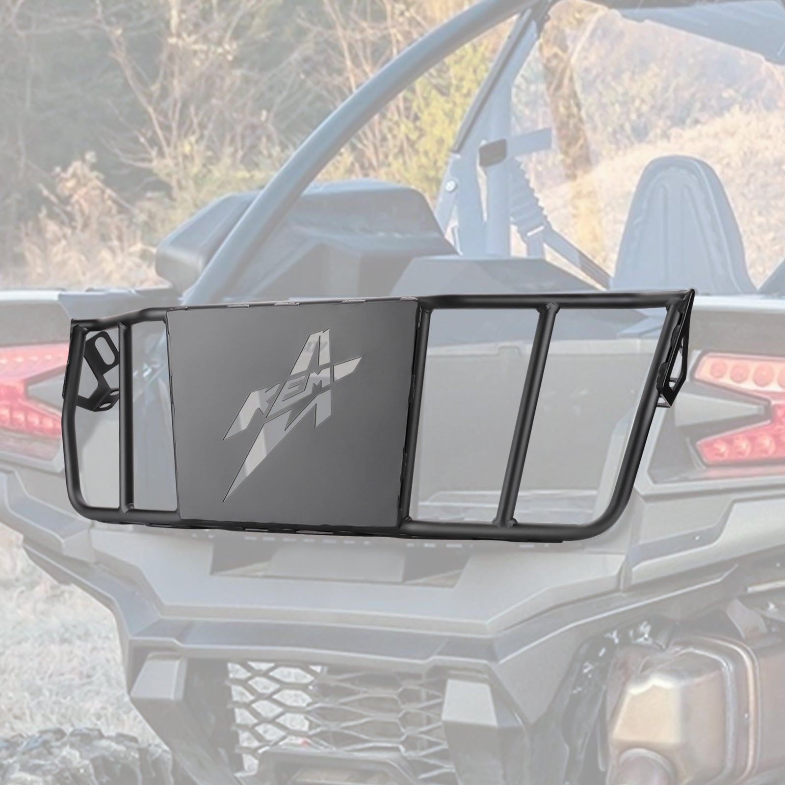 UTV Cargo Bed Enclosure Compatible with Kawasaki Teryx KRX 1000 - KEMIMOTO