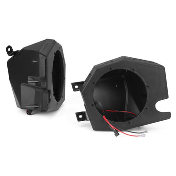 Front Kick Pods Panel, RZR XP 1000 Speaker Pods Enclosures 6.5 inch Compatible with RZR 900 / XP 1000 / XP Turbo 2014-2019