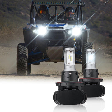 (New In!) Ranger LED Headlight Light Bulb Compatible with 2011-2019 Polaris RZR Ranger