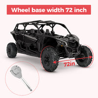 """fits 72/""""//64/"""" Wheel Base Width Hopider X3 Belt Changing Tool Clutch Removal Kit for Can-Am Maverick X3// X3 Max//Turbo//R"""