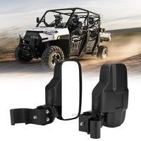 Ranger Side View Mirror Compatible with 2015-2021 Polaris Ranger 500 570 900 Fits Pro-Fit Cab Lock N Ride Factory Cage Frame Ranger Side Mirrors by UNIGT NOT FOR ROUND ROLL BARS
