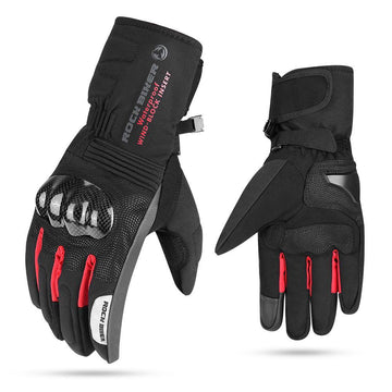 Motorcycle Winter Windproof Gauntlet Touch Screen Gloves