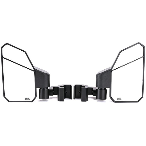 Side Mirrors with Convex Mirror For Ranger General, Defender, Maverick Trail with Pro Fit Cab - KEMIMOTO