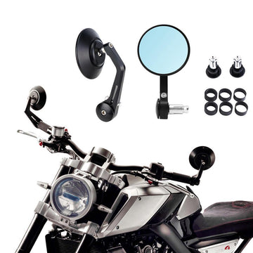Rear View Mirror Motorcycle Accessories ATV For BMW R NineT Scrambler For Kawasaki W800 For HL Forty-Eight For Ducati Scrambler