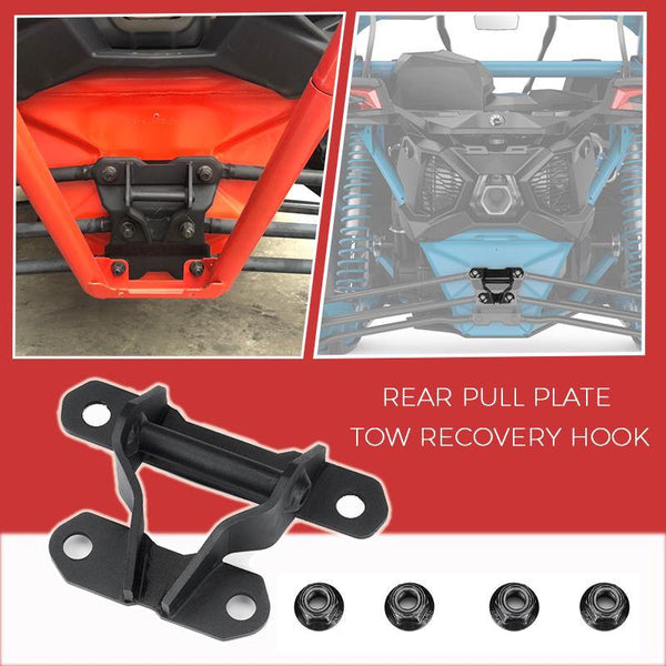 Can am Maverick X3 UTV Rear Tow Hook - KEMIMOTO