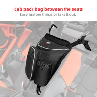 UTV 600D Cab Pack Luggage Storage Bag for CAN AM Commander 1000 2011-2018 - Kemimoto