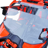Can Am X3 Windshield, Heavy Duty Scratch Resistant PMMA Full Windshield - Kemimoto