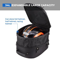 Extendable Large Capacity Oxford Tail Bag - Kemimoto