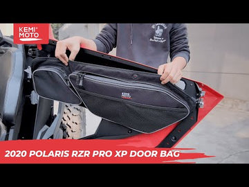 Polaris RZR PRO XP Front Door Bag with Removable Knee Pad