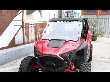 Polaris RZR PRO XP / 4 Scratch Resistant Full Windshield Clear for 2020+
