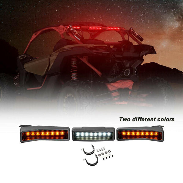 Can Am Maverick X3/ Max/XRC/Turbo/RR/R Rear LED Chase Light Kit #715002887 - Kemimoto