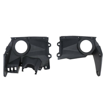 Can Am Maverick X3 Dash Panel Dashboard Speaker Mount Pods Set