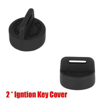 Polaris Sportsman Scrambler Trail Boss Magnum Igntion Key Cover 2Pack Black