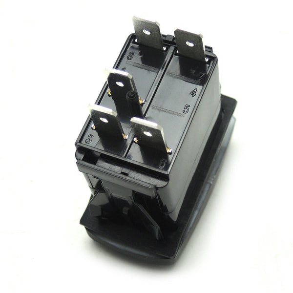Blue Led Horn Rocker Switch - Kemimoto