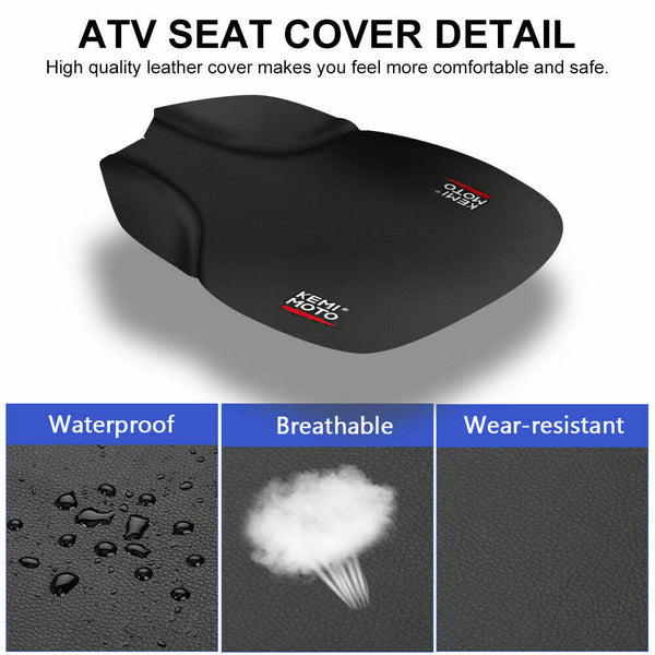 Astounding Replacement Atv Seat Cover For 4X4 Polaris Sportsman 335 400 500 600 700 1996 04 Alphanode Cool Chair Designs And Ideas Alphanodeonline