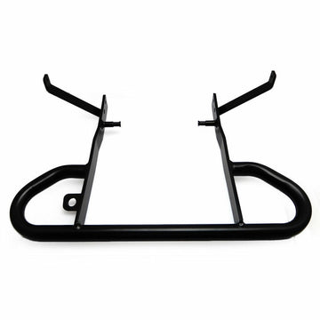 Quad Yamaha Raptor 700 Matte Black Rear Wide Grab Bar Bracket Stand Mounted