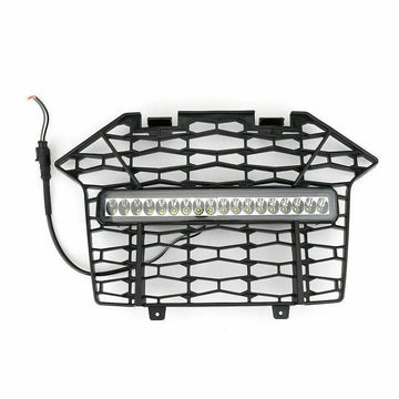 2020 Polaris RZR PRO XP Premium Front Bumper Mesh Grill Grille LED Light Bar