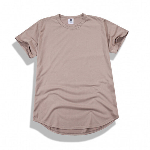 Scoop Tee - Taupe