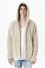 Sherpa Jacket - Beige - ELEVATED NEW YORK NY ELEVATEDNY