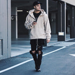 Sherpa Pullover - Beige - ELEVATED NEW YORK NY ELEVATEDNY