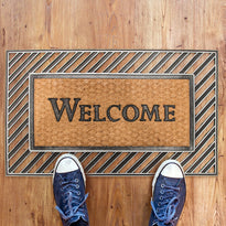Rubber Moulded Coir Welcome Mat - OnlyMat