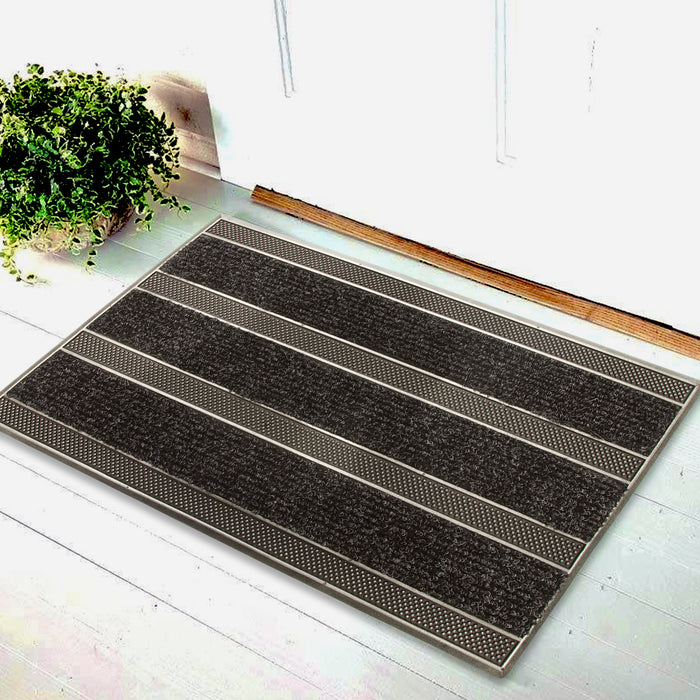 Rubber Pin PP insert Multi Doormat