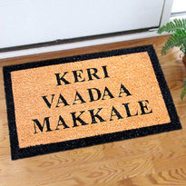 KERI VADDAA MAKKALE COIR DOOR MAT ( International Shipping )