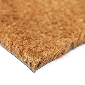 "Funny ""Owner is Shady, Dog is Cool"" Printed Natural Coir Floor Mat - OnlyMat"