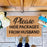 "Funny ""Please Hide Packages from Husband""  Natural Coir Floor Mat - OnlyMat"