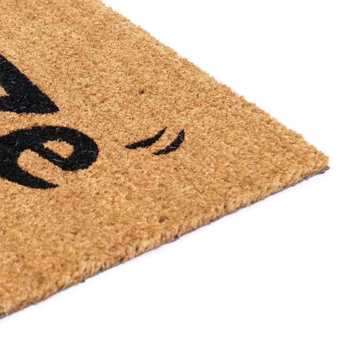 """Booze"" Printed Funny Natural Coir Door Mat"