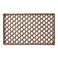 Elegant Washable Golden Colour Rubber Floor Mats - OnlyMat