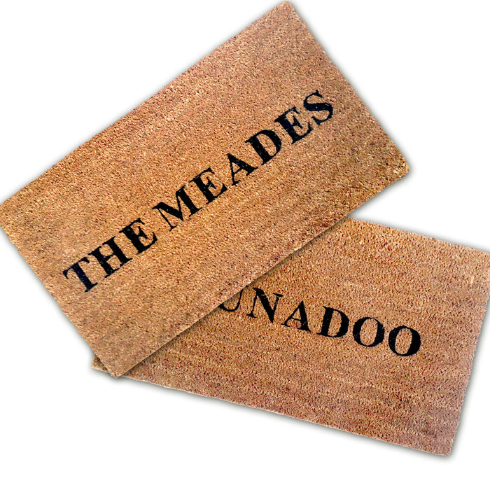 Customize your own Personalized Doormat - Design 7