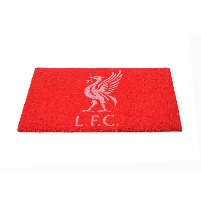 Liverpool Red Color Printed Doormat