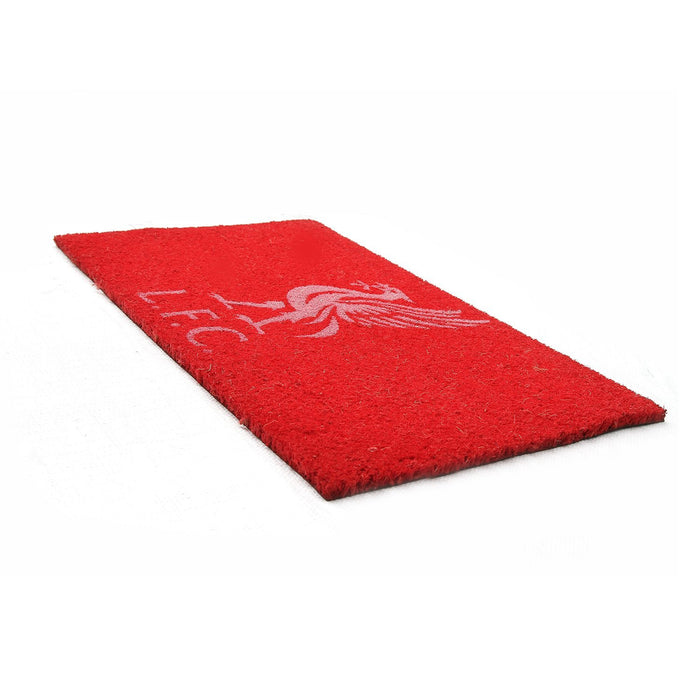 Red Color Liverpool FC Logo printed Doormat - Official licensed Product - OnlyMat