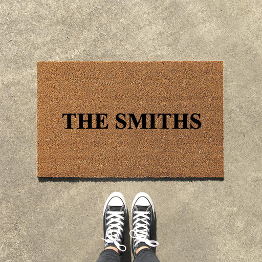 Customize your own Personalized Doormat
