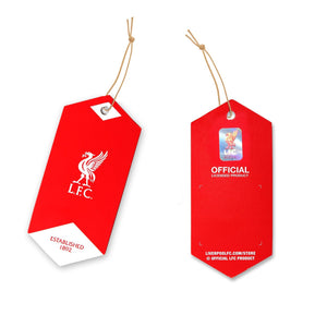 "Stylish Red Color ""This is Liverpool Football Club Anfield"" Printed Floor Mat - Officially licensed product of Liverpool FC - OnlyMat"