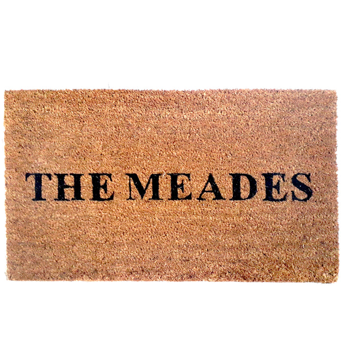 Customize your own Personalized Doormat - Design 7 - OnlyMat