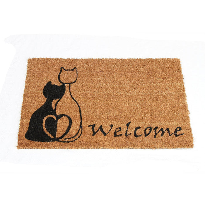 Cat Printed Elegant Welcome Door Mat - OnlyMat