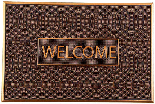 Acupressure Natural Welcome Rubber Doormat