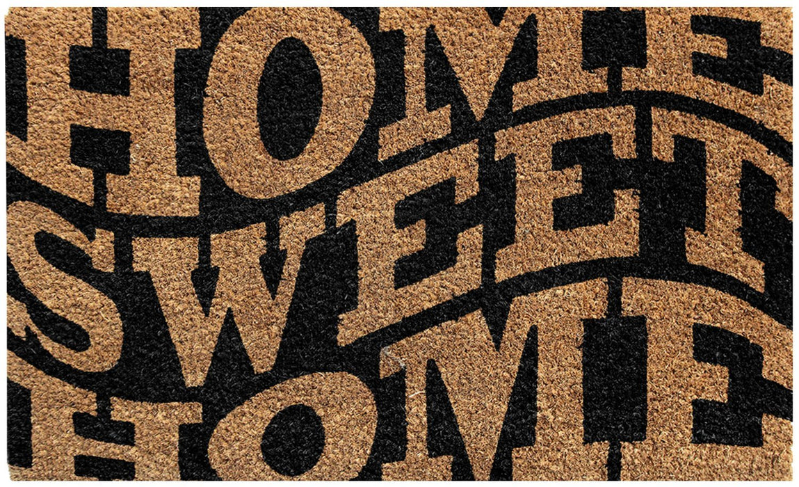 Home Sweet Home Design Coir Doormat - OnlyMat