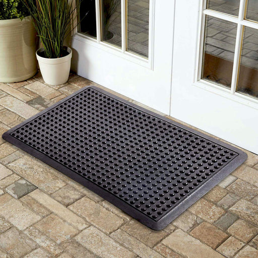 Bubble Mat - Skid Resistant and Anti-Fatigue Rubber Floor / Shower / Kitchen Mat - OnlyMat
