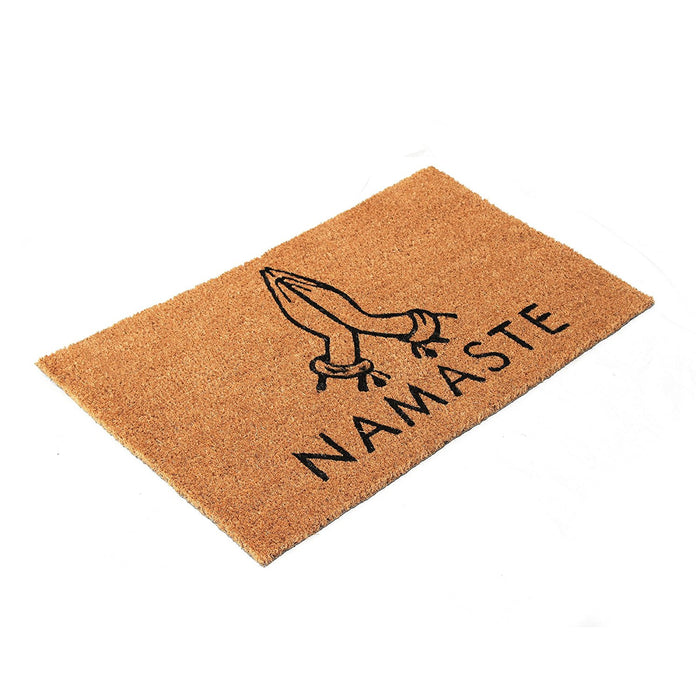 Namaste Design Natural Coir Doormat