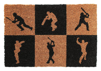 Cricket Design Natural Coir Doormat 45X75 CM
