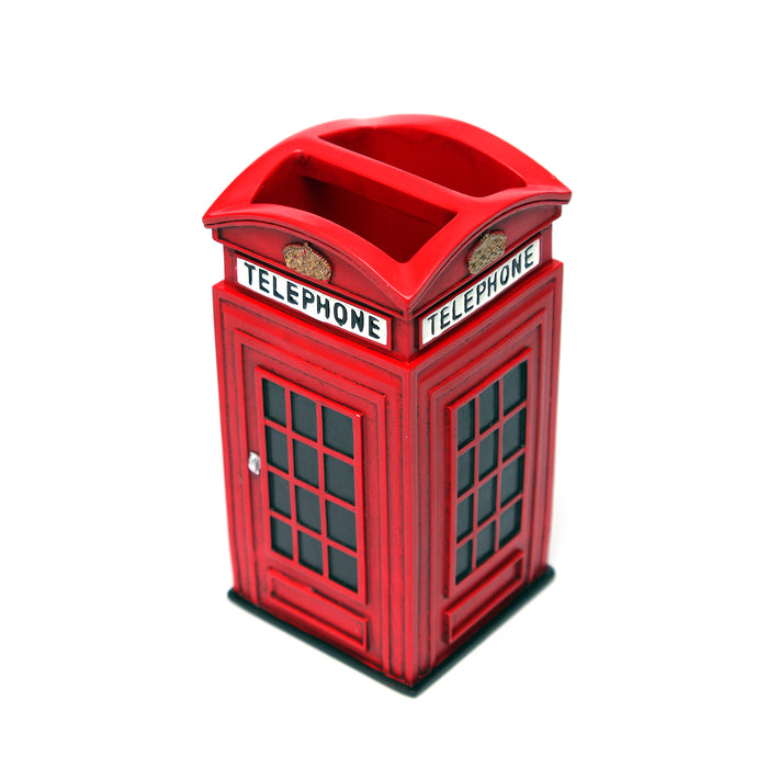 Shresmo Telephone Booth Shaped Wonder Toothbrush Holder