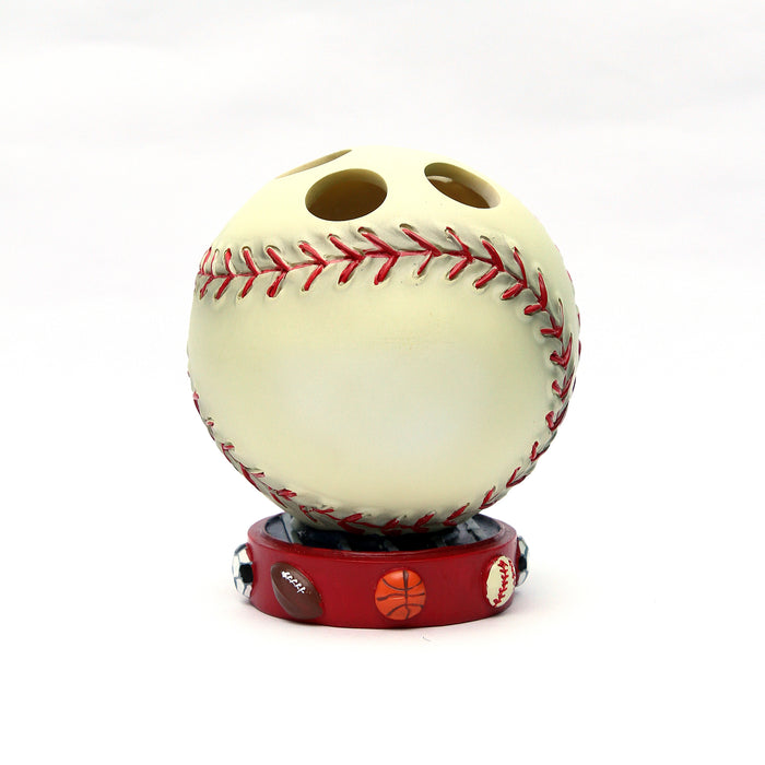 Shresmo Baseball Shape Wonder Toothbrush Holder